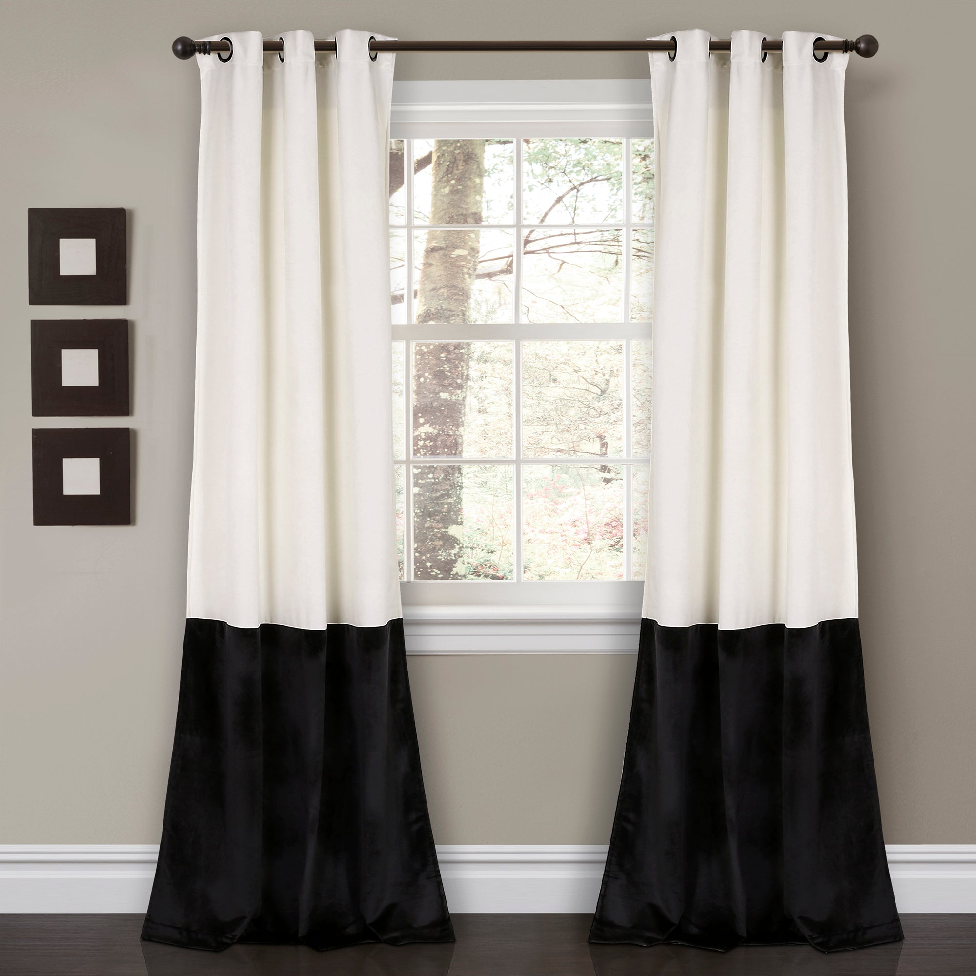 p cheap panels drapes black curtains curtain with a also velvet inch out blackout sheets