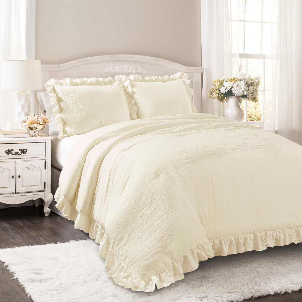 picture p comforter piece s rose set collection sets ivory of chezmoi king california embroidery