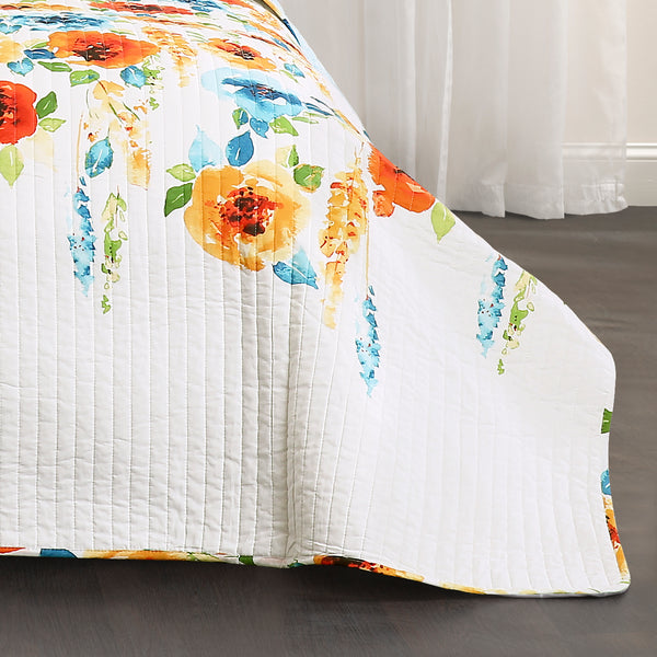 Percy Bloom Quilt 3 Piece Set