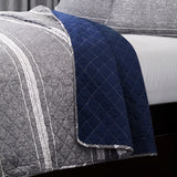 Marlton Stripe Quilt 3 Piece Set