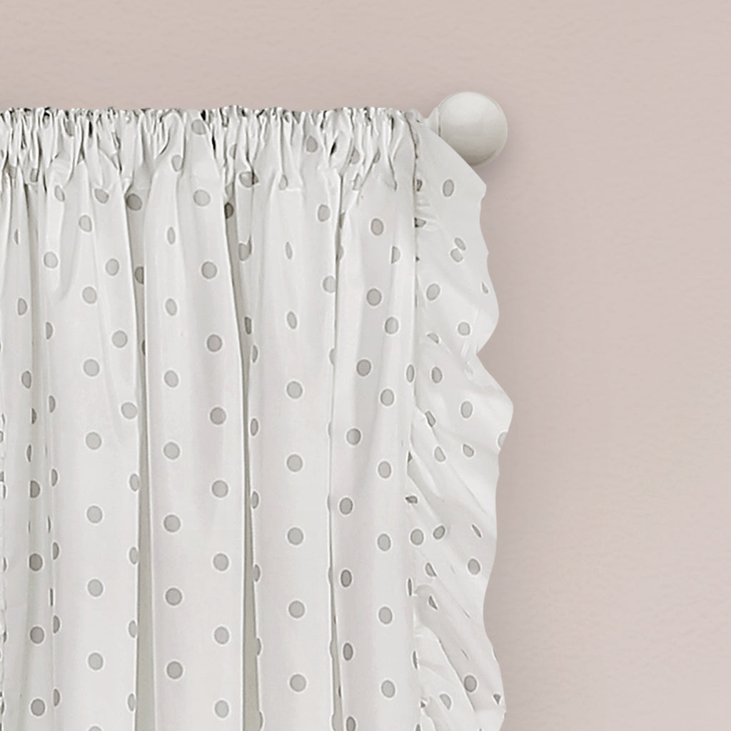 x sheer ruffle overstock panel shipping tier window product voile curtains chic ruffled vertical on orders curtain over free home garden