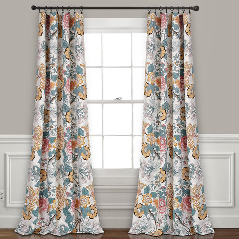 Sydney Room Darkening Window Curtain Panel Set