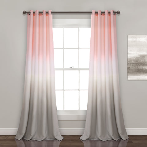 Umbre Fiesta Room Darkening Window Curtain Panel Set