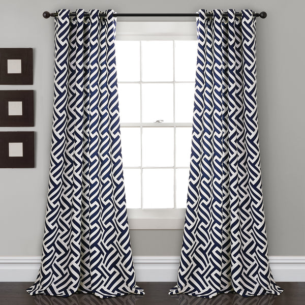 Giovana Room Darkening Window Curtain Panel Set
