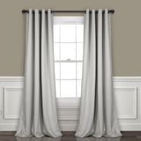 Insulated Grommet Blackout Curtain Panel Set