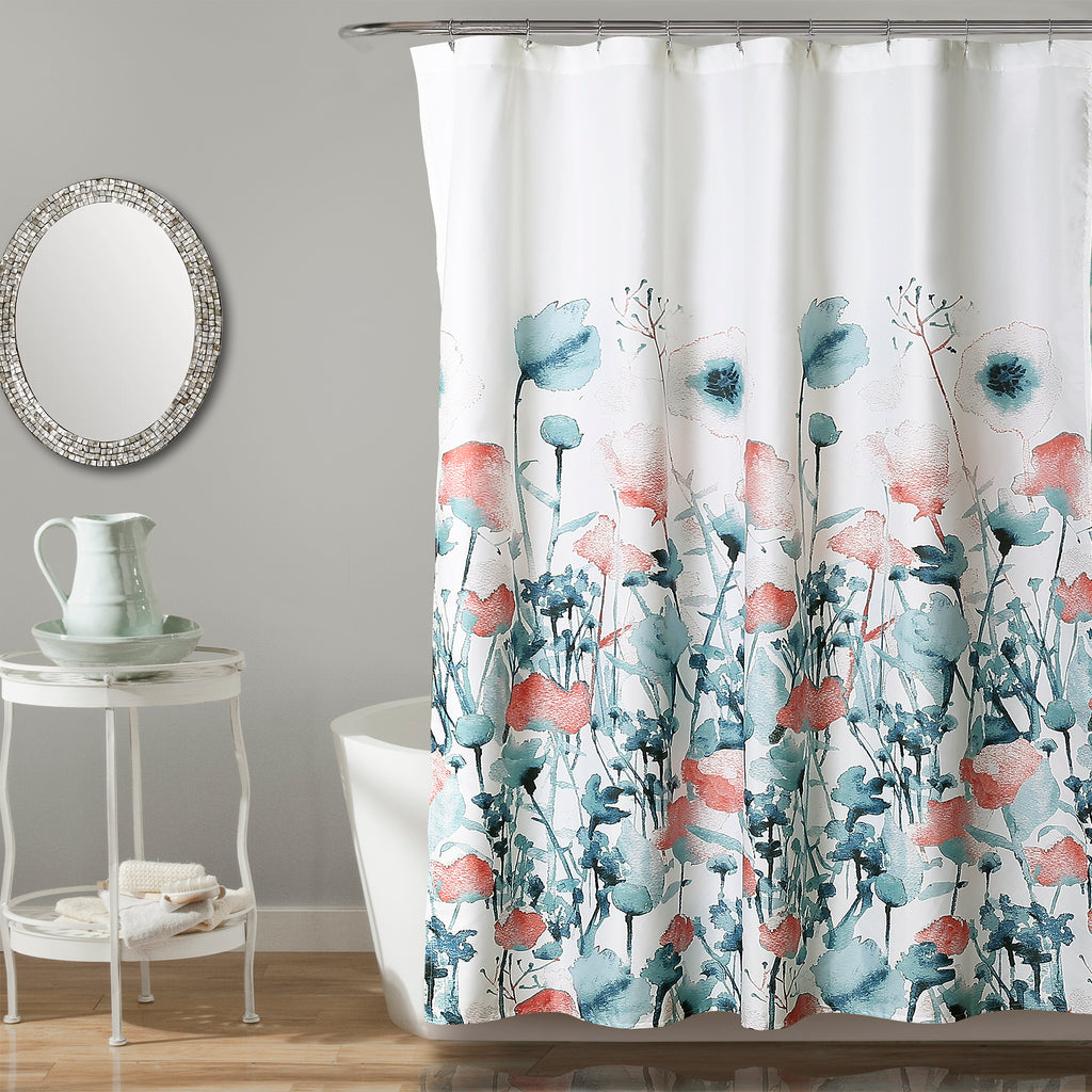 Zuri Flora Shower Curtain