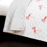 Kelly Flamingo Quilt 3 Piece Set