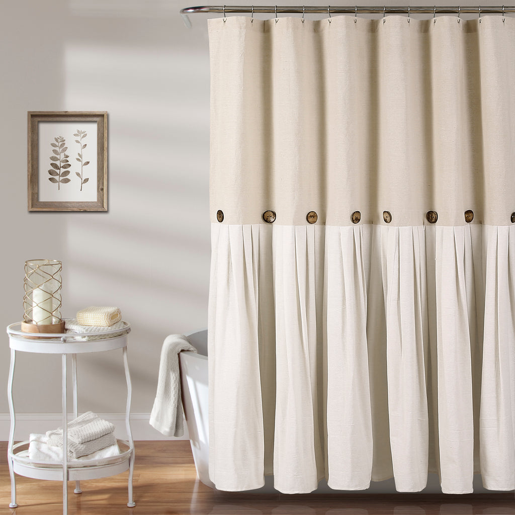 Lush Decor Darla Shower Curtain 72 By 72 Inch White C12864P13 000