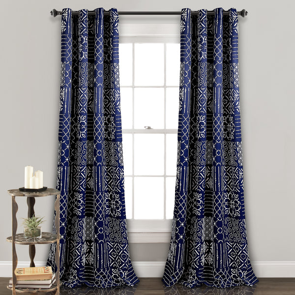 Monique Room Darkening Window Curtain Panel Set