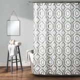 Octagon Blocks Shower Curtain