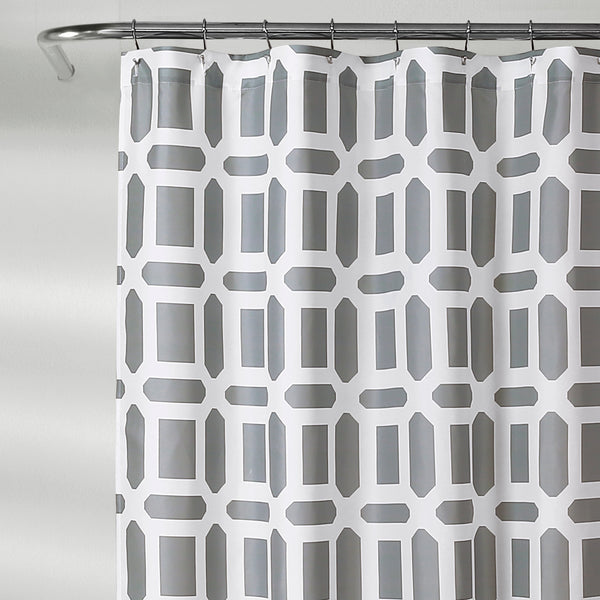 Sequoia Geo Shower Curtain