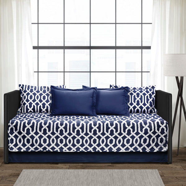 Edward Trellis 6 Piece Daybed Cover Set