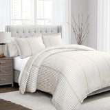 Drew Stripe Duvet Cover 3 Piece Set