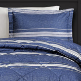 Marlton Stripe Comforter Set Back To Campus Dorm Room Bedding