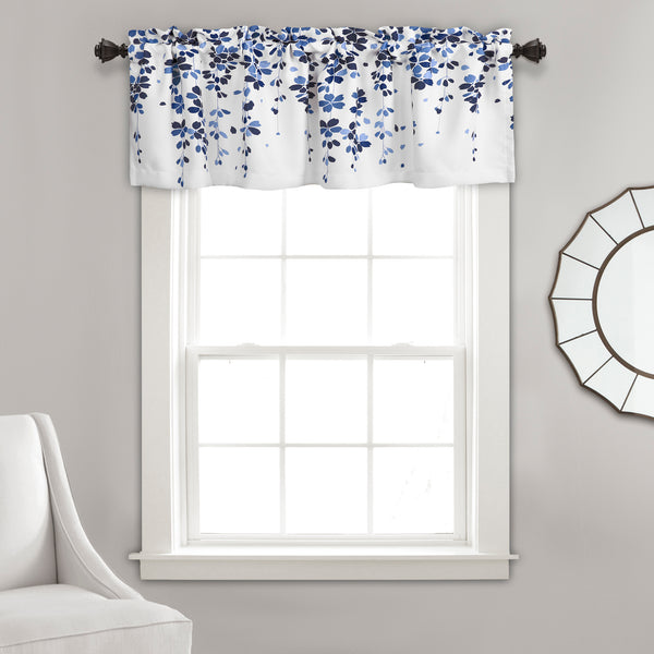 Weeping Flower Room Darkening Valance