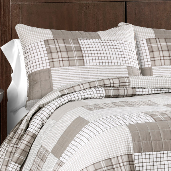 Greenville 3 Piece Quilt Set