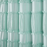 Nova Ruffle Shower Curtain