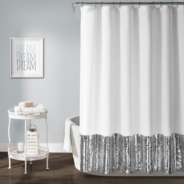 Mermaid Sequins Shower Curtain