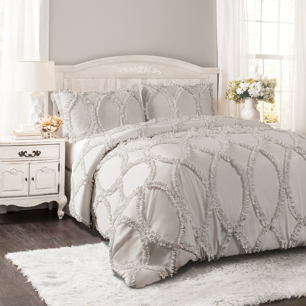 Avon 3 Piece Comforter Set Lush Decor Www Lushdecor Com