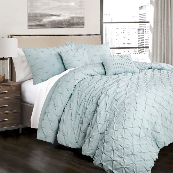 Ravello Pintuck 5 Piece Comforter Set