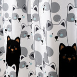 Stripe Bear Shower Curtain