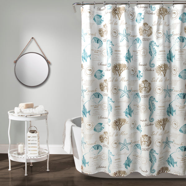 Harbor Life Shower Curtain