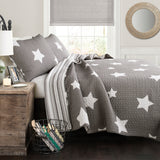Star 3 Piece Quilt Set