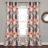 Leah Room Darkening Window Curtain Set