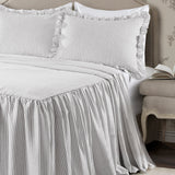 Ticking Stripe Bedspread Set