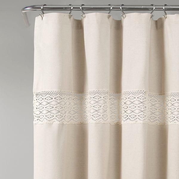 Dana Lace Shower Curtain