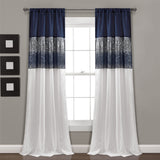 Night Sky Window Curtain Panel