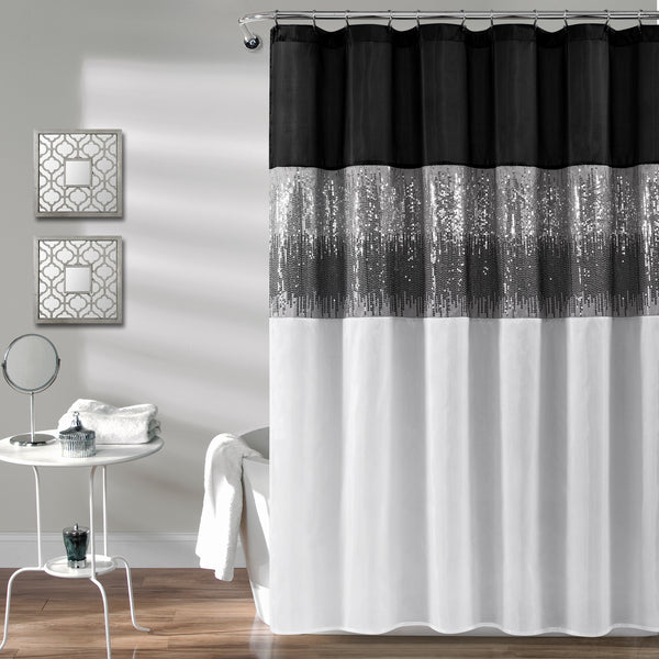 Night Sky Shower Curtain