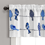 Rowley Birds Room Darkening Valance