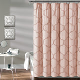 Avon Chenille Trellis Shower Curtain