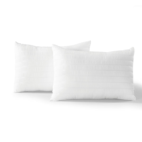 Farmhouse Seersucker 5 Piece Comforter Set