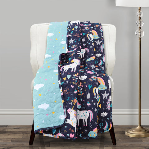 Unicorn Heart Throw