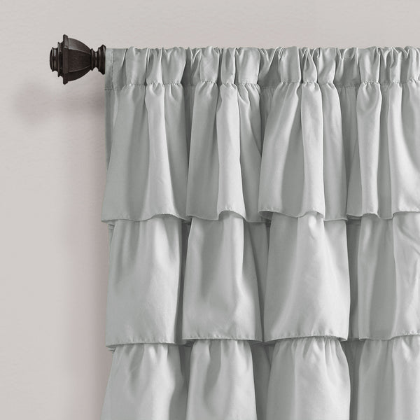 Ruffle Window Curtain