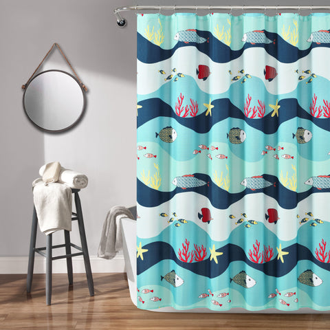 Sea Life Shower Curtain