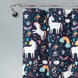 Unicorn Heart Shower Curtain