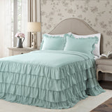 Allison Ruffle Skirt Bedspread Set