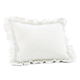 Ella Shabby Chic Ruffle Lace Comforter Set Back To Campus Dorm Room Bedding