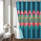 Boho Chic Shower Curtain 14 Piece Complete Set