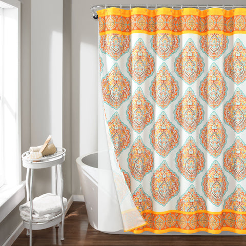 Harley Shower Curtain 14 Piece Complete Set