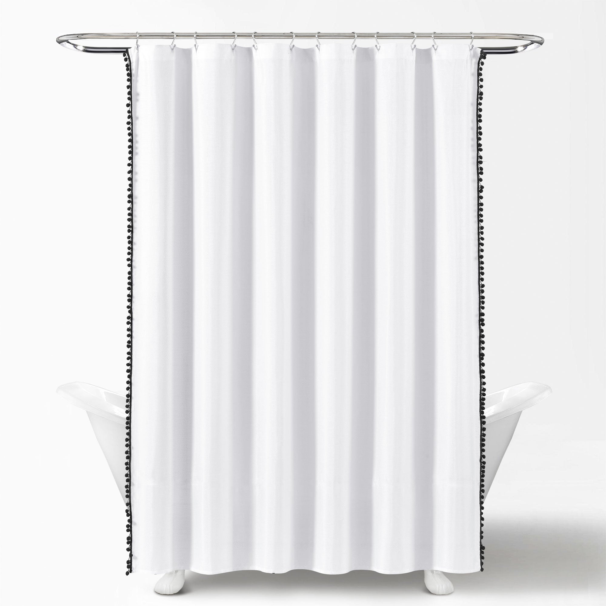 Pom Pom Shower Curtain