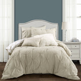 Ravello Pintuck Caroline Geo Comforter Set Back To Campus Dorm Room Bedding