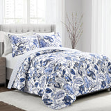 Cynthia Jacobean 3 Piece Quilt Set