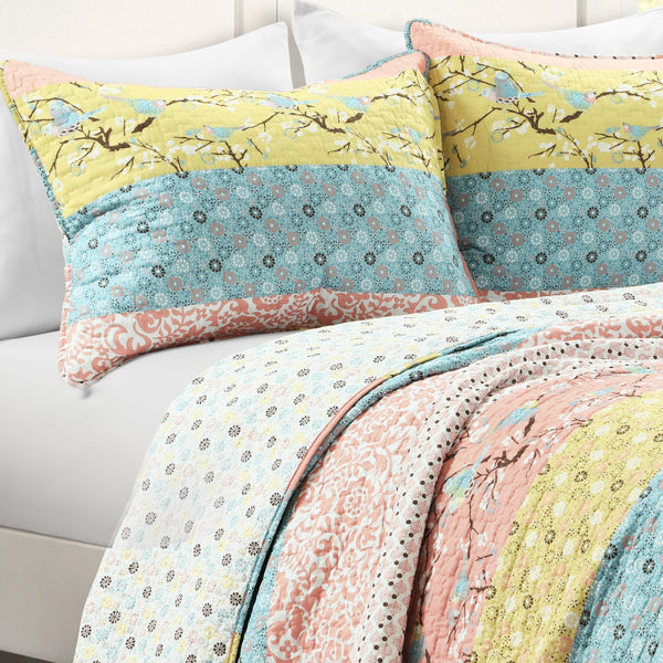 Royal Empire 3 Piece Quilt Set