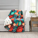 Poppy Garden Throw