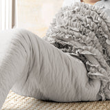 Mermaid Ruffle Mermaid Shape Sherpa Throw