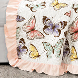 Flutter Butterfly Throw